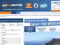 Beat The Brochure - Cheap Holidays from UK Departures.