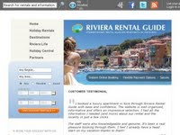 Riviera Rental Guide - Holiday Rentals in France and Italy