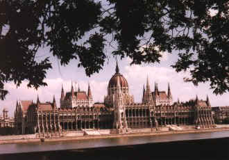 Houses of Parliament, Budapest - Copyright TravelNotes.org