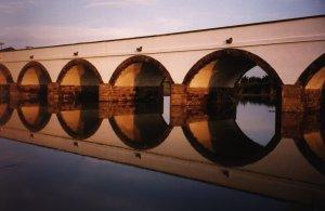 Hortobagy, The oldest stone bridge in Hungary. Copyright Michel, Travel Notes.