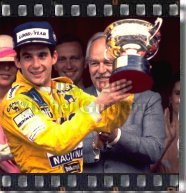 Ayrton Senna - Six Times Winner in Monaco - copyright Michel Guntern, TravelNotes.org