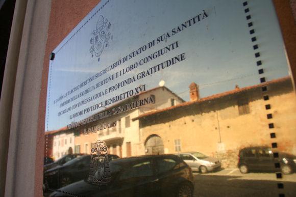 Casa Paterna Cardinal Tarcisio Bertone - Romano Canavese