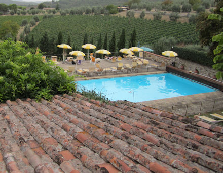Pool with a View - Chianti