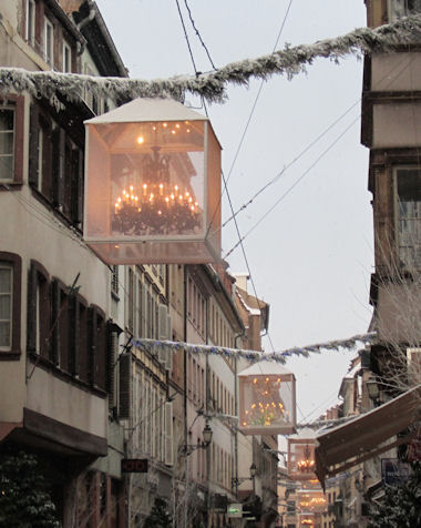 Christmas Lights in Strasbourg